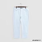 Hang Ten - 女裝 - 純色微彈休閒長褲 - 淺藍