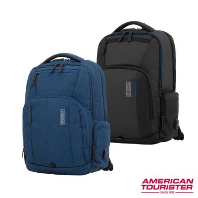 AT美國旅行者 Zork商務多功能筆電後背包(多色可選)