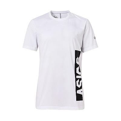 ASICS 男印花短袖T恤 2031A562-100