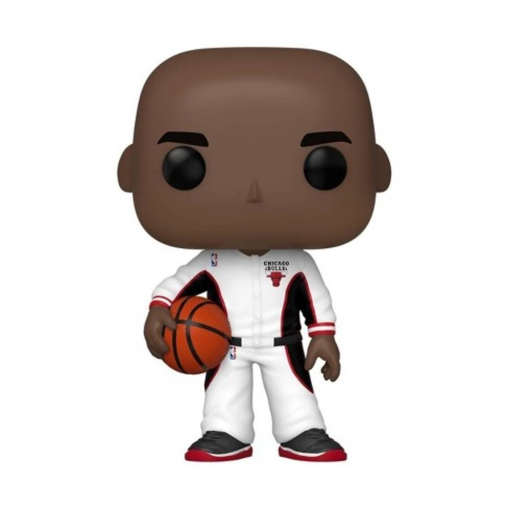 Funko POP NBA 大頭公仔 公牛隊 熱身服 Michael Jordan