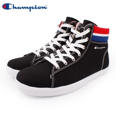 【Champion】CP Cozy HI 休閒帆布鞋 高筒 女鞋-黑(WFLS-9004-10)