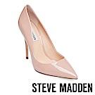STEVE MADDEN-DAISIE 素面尖頭高跟鞋-鏡藕色