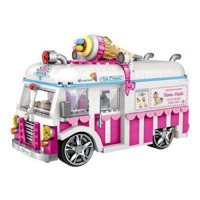 LOZ mini 鑽石積木-1112 冰淇淋車