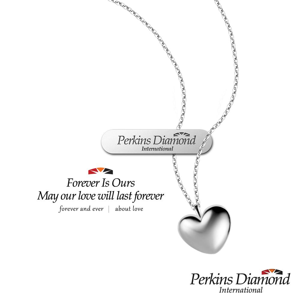 PERKINS 伯金仕 - RoseHeart系列 18K金心形項鍊