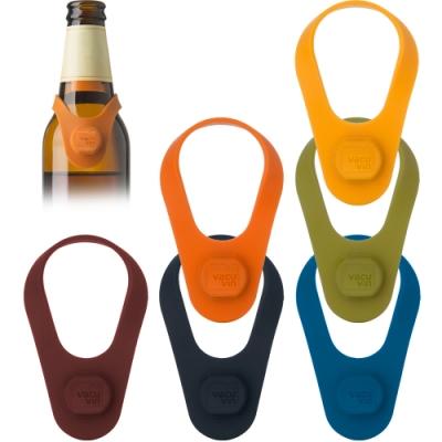 《VACU VIN》掛式矽膠酒瓶塞6入