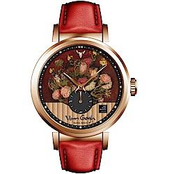 梵谷Van Gogh Swiss Watch小秒盤梵谷經典名畫女錶(C-RLLV-19)