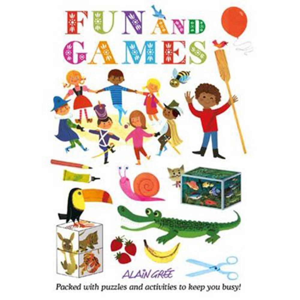 Fun And Games 趣味活動勞作書