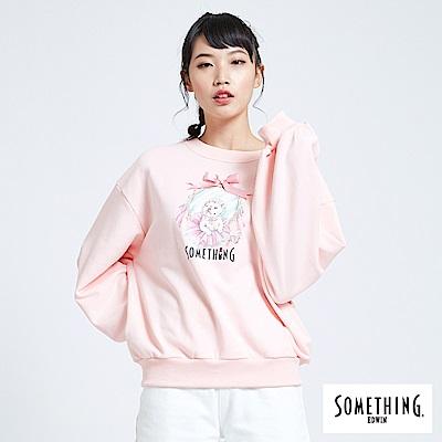 買一送一 BONBON法鬥哥 芭蕾綁結 厚長袖T恤-女-粉紅色