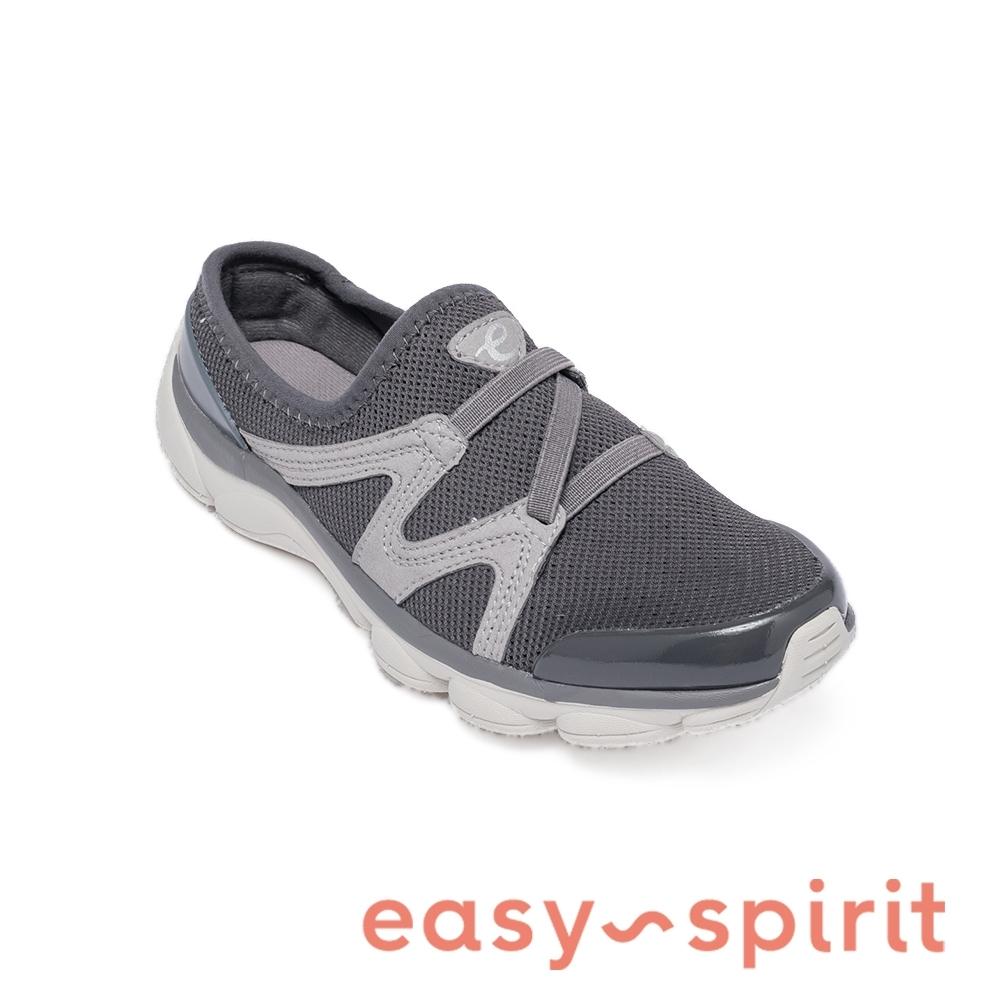 Easy Spirit-seTHALLOW2 輕量再進化 彈性微包休閒女鞋-灰色
