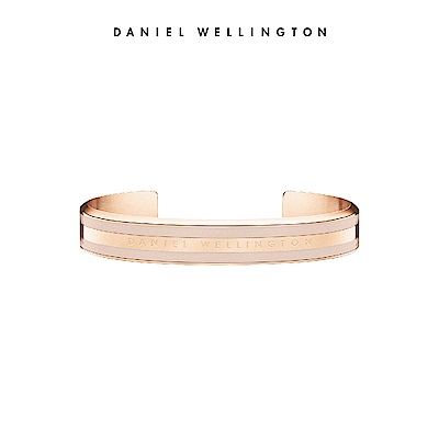 DW 手環 Classic Bracelet 時尚奢華手鐲 玫瑰金x沙漠灰-S