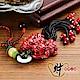 財神小舖 紅珊瑚貔貅吊飾-海竹 (含開光) DSL-8001 product thumbnail 1
