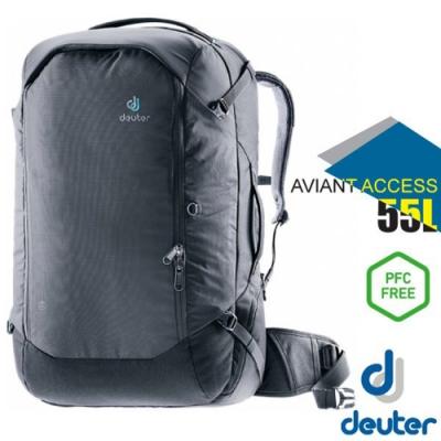 Deuter AVIANT ACCESS 55L 專業輕量多功能休閒背包_黑