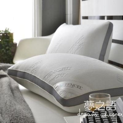 夢之語 MIT天絲獨立筒釋壓枕(1入)枕頭