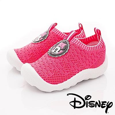 迪士尼童鞋 米妮針織襪套鞋款 ON18826桃(寶寶段)