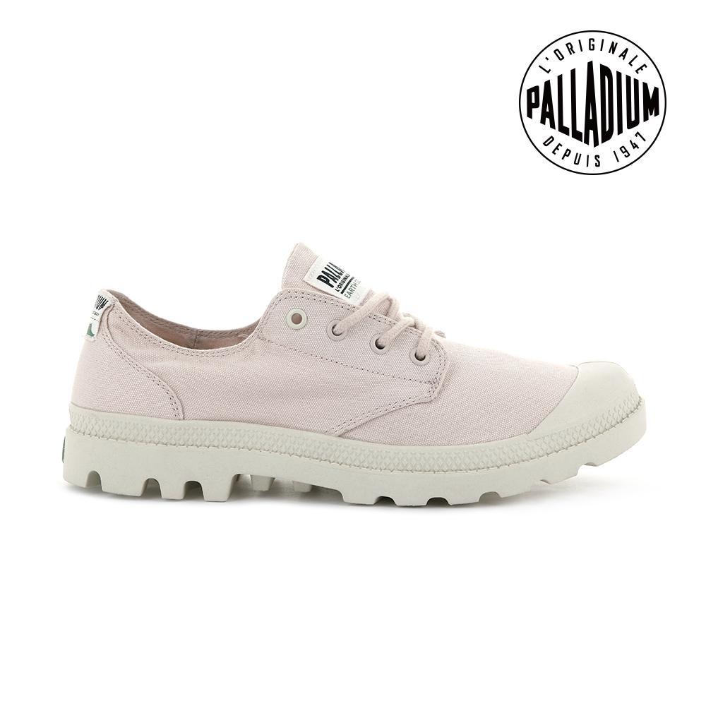 PALLADIUM PAMPA OX ORGANIC有機低筒鞋-中性-淡粉
