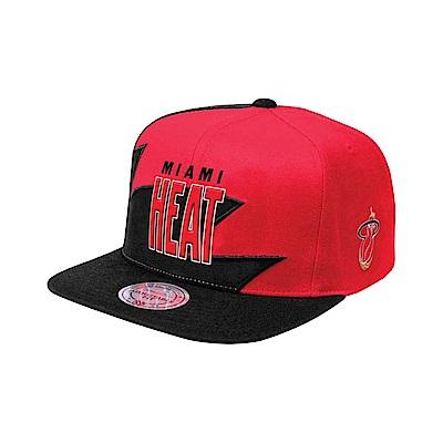 M&N NBA Shark Tooth 棒球帽 熱火隊