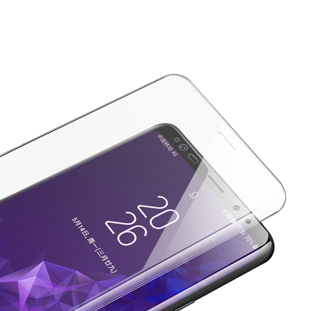 S8透明 9H 鋼化玻璃膜 保護貼-曲面 @ Y!購物