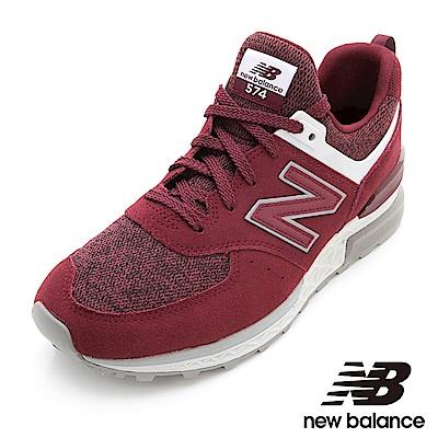 New Balance 復古鞋 男鞋 紅 MS574CE