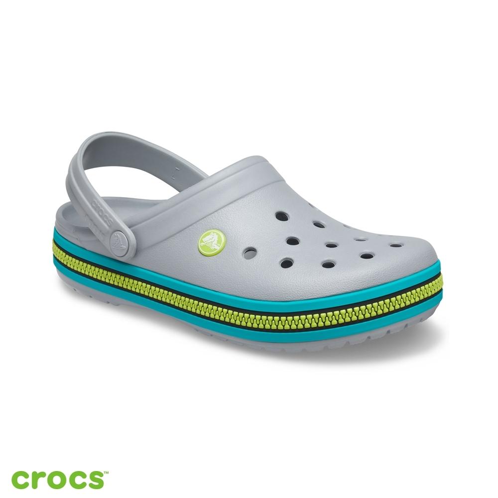Crocs卡駱馳 (中性鞋) 卡駱班拉鍊圖案克駱格 -206594-0GV
