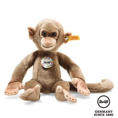 STEIFF德國金耳釦泰迪熊   Aeffie Monkey  艾菲頑皮猴子  (動物王國)