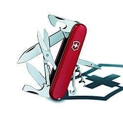 VICTORINOX 瑞士維氏攀登者15用瑞士刀-紅