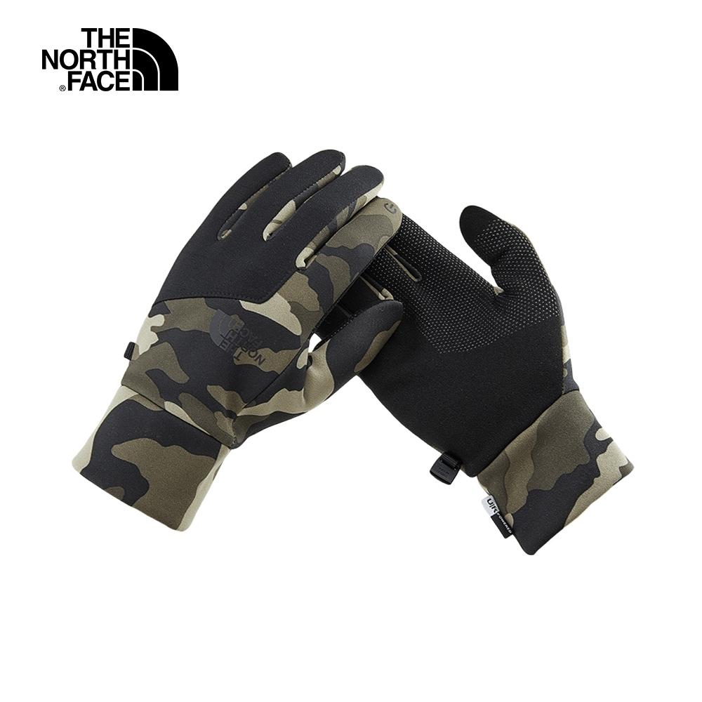 The North Face北面男女款迷彩舒適保暖可觸屏手套|3KPNFQ9