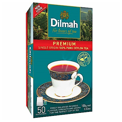 Dilmah帝瑪 錫蘭紅茶(2gx50入)