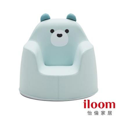 【iloom怡倫】 ACO童話-寶拉藍熊小沙發(媽咪抱抱椅)