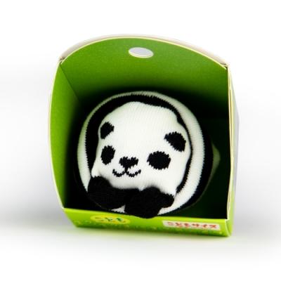 【SUKENO】超萌動物園造型兒童襪 - 圓圓熊貓