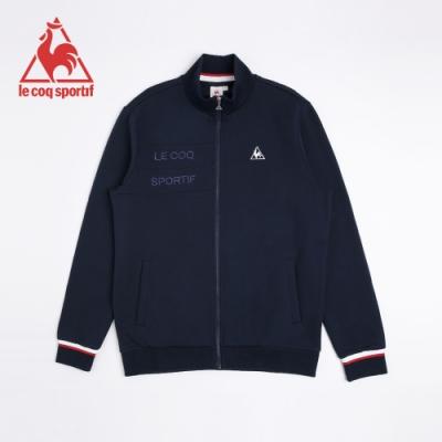 法國公雞牌立領外套 LNI6160339-男-藏青