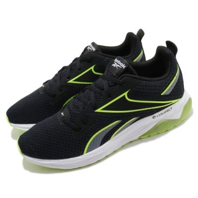 Reebok 慢跑鞋 Liquifect 180 運動 男鞋 輕量 透氣 舒適 避震 路跑 健身 黑 黃 FV2754