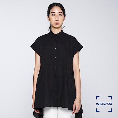 WEAVISM 織本主義- 強撚傘狀罩衫 黑色