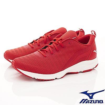 Mizuno美津濃-避震慢跑鞋-185562紅(男段)
