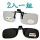 【Docomo】2組1入 頂級夾式偏光抗藍光+新型夾式偏光 抗UV400 頂級偏光太陽眼鏡 product thumbnail 1