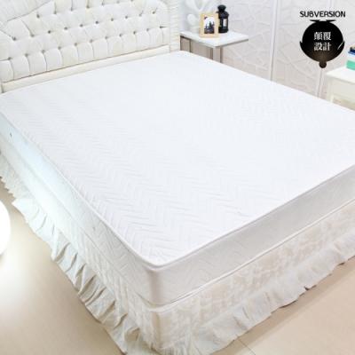 顛覆設計 超舒適3M防潑水二線獨立筒床墊-雙人5尺