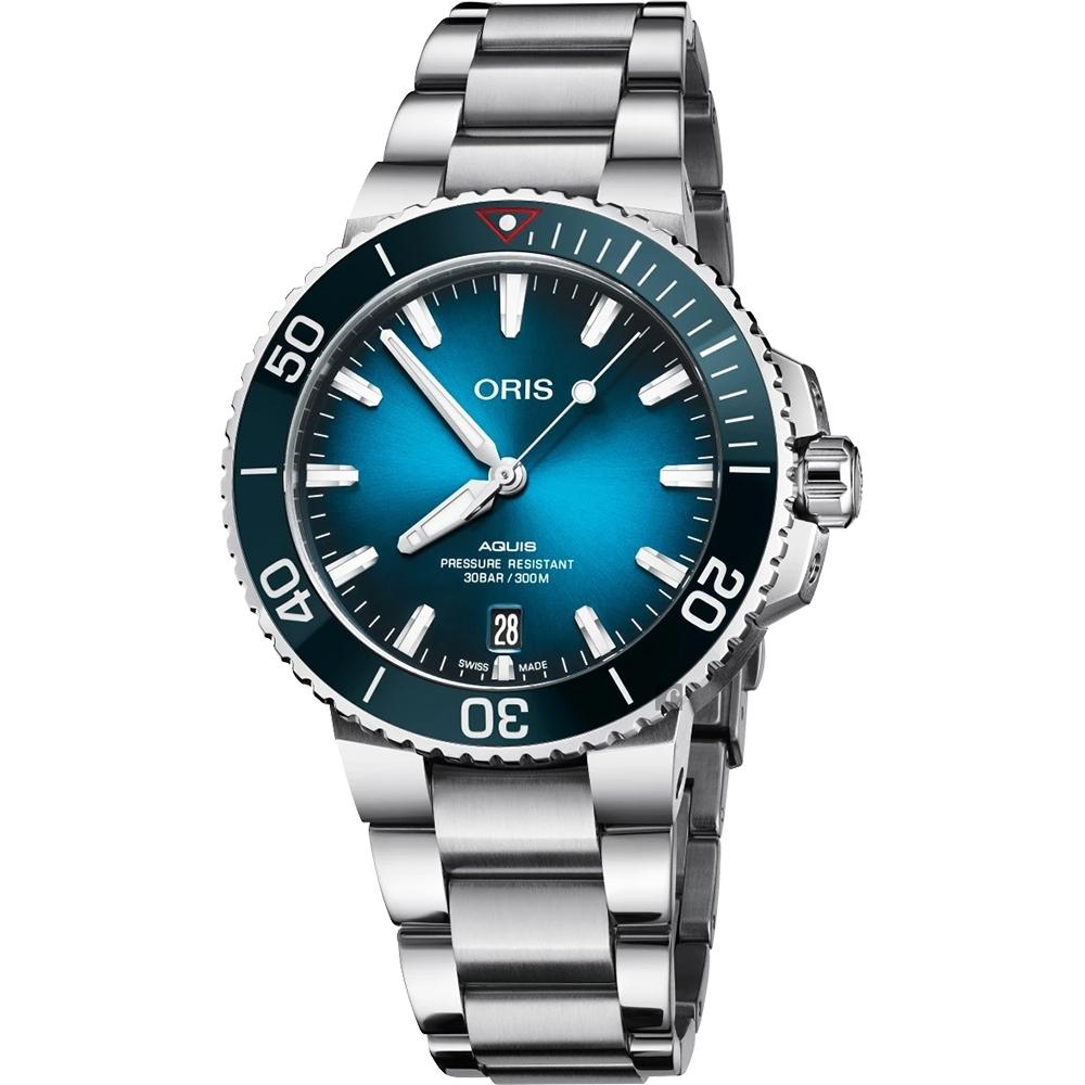 Oris 豪利時 CLEAN OCEAN 潔淨海洋限量錶-39.5mm