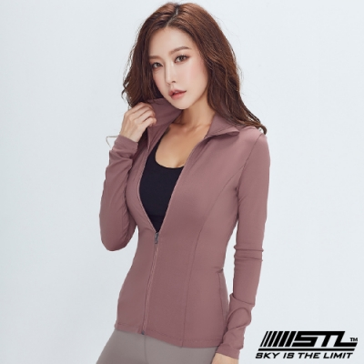 STL Essence Jacket 韓國 運動機能合身立領外套 本質乾燥玫瑰