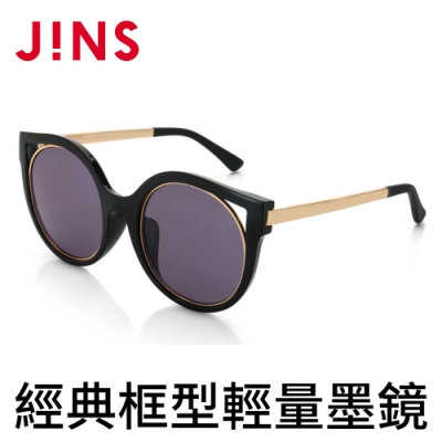 JINS 經典框型輕量墨鏡(特AURF17S870)
