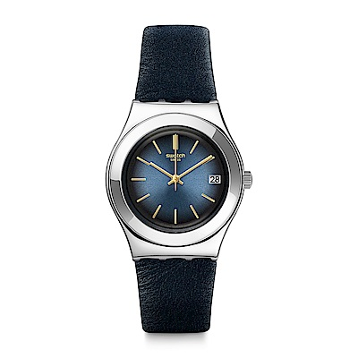 Swatch BLUFLECT 夜藍魅力手錶