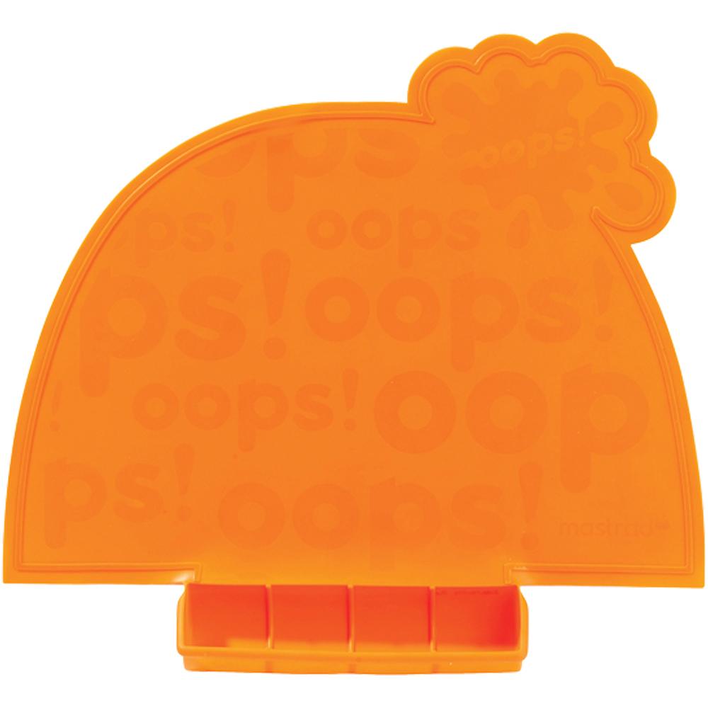 《MASTRAD》幼兒餐墊(橘)