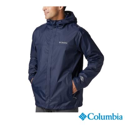 Columbia 哥倫比亞 男款-Omni TECH防水外套-深藍 URE24330NY