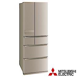 (贈好禮) MITSUBISHI三菱 525L 1級變頻6門電冰箱 MR-JX53C 日本原裝