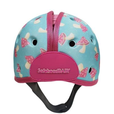 英國SafeheadBABY 幼兒學步防撞安全帽-薄荷蘑菇