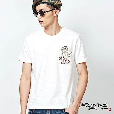 地藏小王 BLUE WAY 里見八犬浮世繪短袖T恤(白)