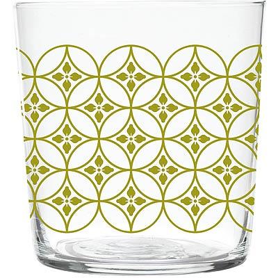 EXCELSA窗花玻璃杯棕370ml