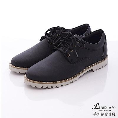 LUXPLAY  男款 低調時尚風格 休閒鞋WK241黑