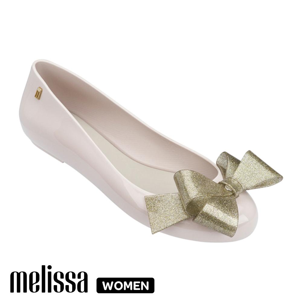 Melissa 經典蝴蝶結娃娃鞋 杏