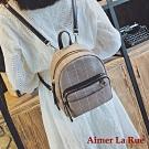Aimer La Rue 諾格勒百搭格紋手提斜背後背包