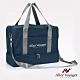 【奧莉薇閣】旅行袋 運動包 行李收納袋 側背包 斜背包 方形大容量(藏青藍) product thumbnail 2