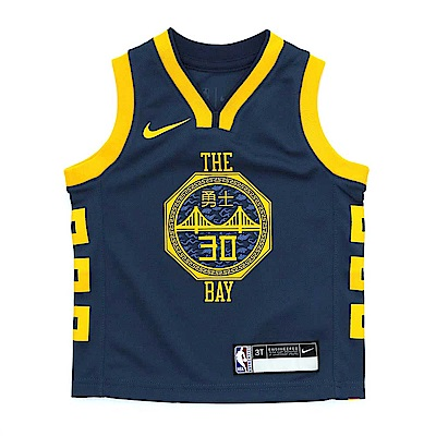 NIKE 城市版 幼兒球衣 勇士隊 Stephen Curry